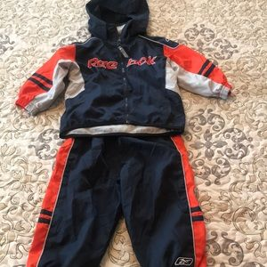 Baby boy wind suit jacket and pants